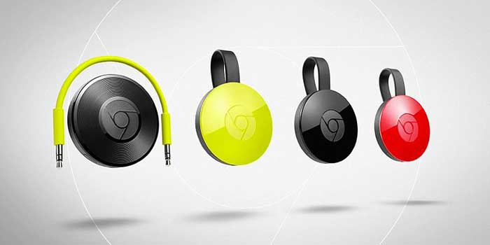 chromecasts 2 and chromecast audio