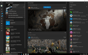 Xbox beta app at windows 10