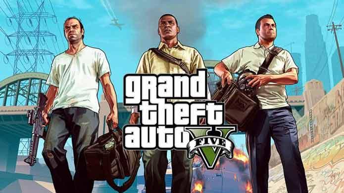 Top 10 Best Xbox Video Games -GTA V -techcresendo