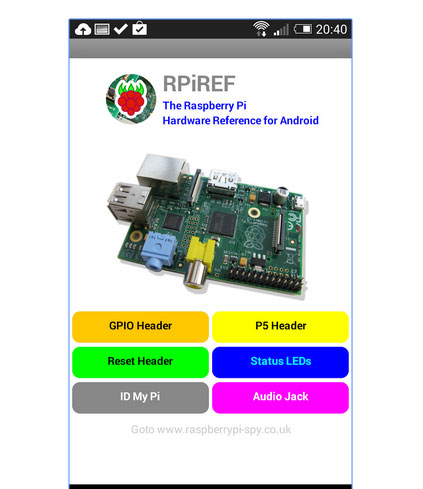Raspberry Pi Utility Android Apps