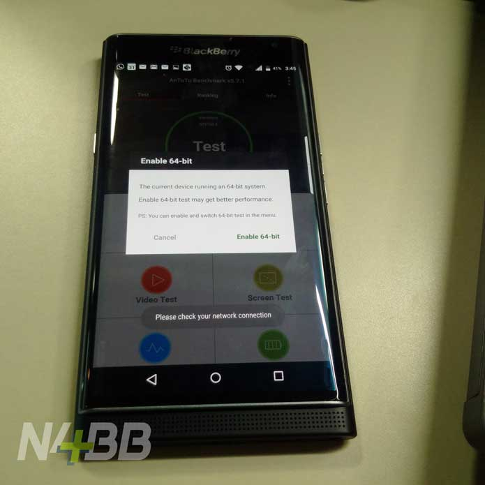 BlackBerry Priv With Android -techcresendo