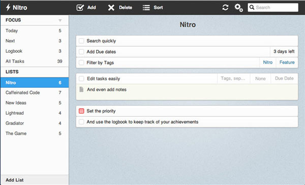 Top 7 Best free task management Software- Nitro