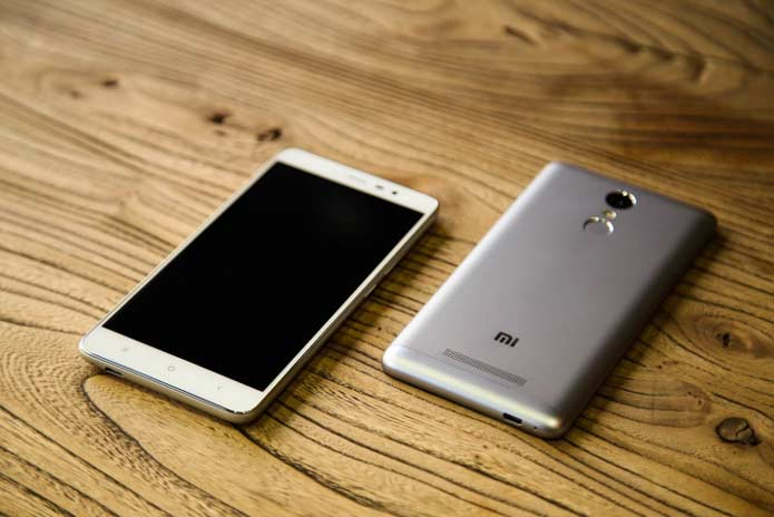 Xiaomi Redmi Note 3 With Big Battery, Full Metal Body Launched