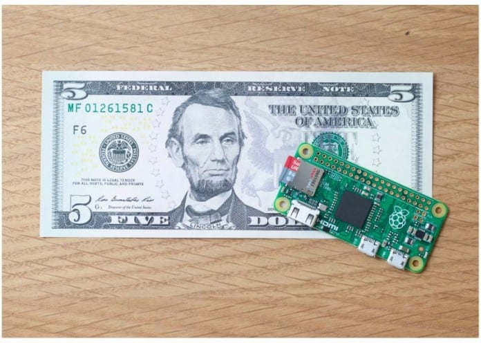 Raspberry Pi Zero – Raspberry Pi's latest micro-computer costs just $5
