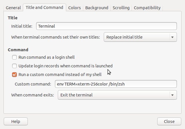 Enable 256 Color Terminal in Ubuntu - techcresendo