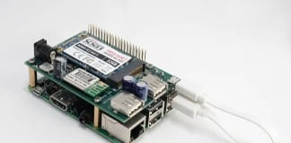 Solid State Drive Shield for Raspberry Pi 2- CSB502SSD