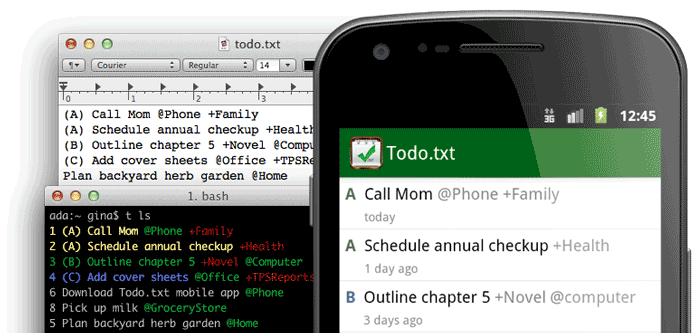 Top 7 Best free task management Software- Todo.txt