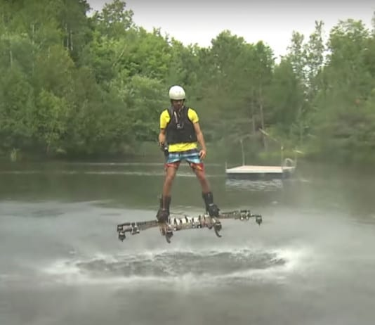 Omni Hoverboard – A hoverboard that actually flies - Alexandru Duru