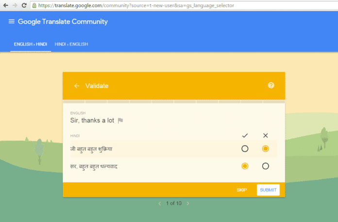 Translatathon – Help Google Translate, Win Android One Phones