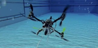 Naviator – Rutgers Created First Drone That Can Fly & Swim
