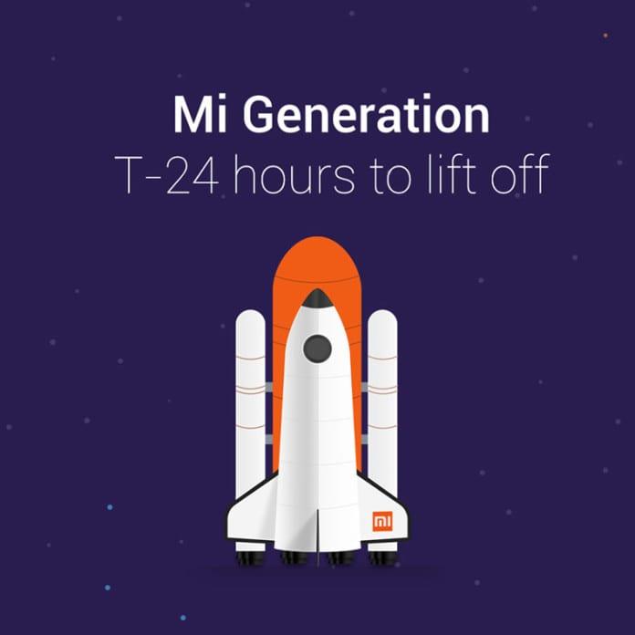 Head of Xiaomi India teases Mi Generation is arriving tomorrow