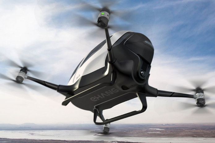 The Ehang 184 – World's first passenger drone