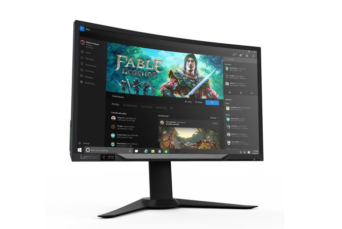 Lenovo Y27g RE Curved Monitor - Razer Edition