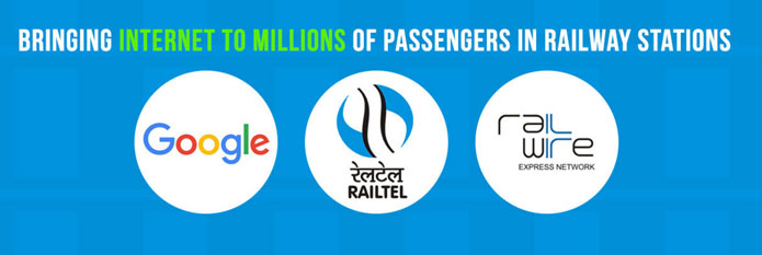 Google and RailTel Free WiFi Service Launched at Mumbai Central Railway Station