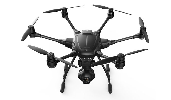 Intel CES 2016 - Yuneec Typhoon H drone