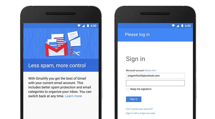 Gmailify gives you Gmail's Best Features without the Gmail address