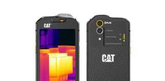 CAT S60 – world's first smartphone with a built-in thermal camera