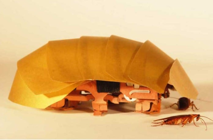 CRAM – Cockroach inspired robots can squeeze through cracks