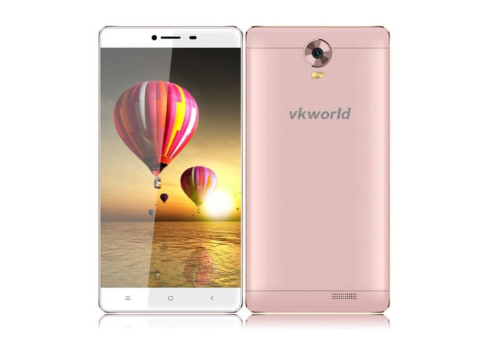 vkworld T1 smartphone is a 6-inch Phablet with no side bezels