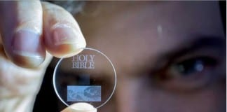 Superman memory crystal – a 5D Glass Discs can store 360TB data for 13.8 billion years