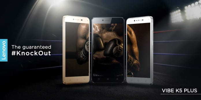Lenovo Vibe K5 Plus to launch in India on March 15