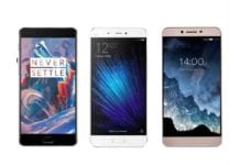 OnePlus 3 vs Xiaomi Mi 5 vs LeEco Le Max 2 – What's Different