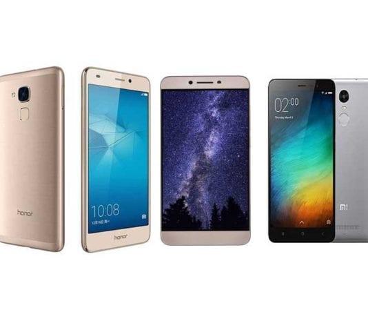 Honor 5C vs LeEco Le 2 vs Xiaomi Redmi Note 3