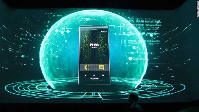 SIRIN LAB Solarin – the world's most secure Android phone