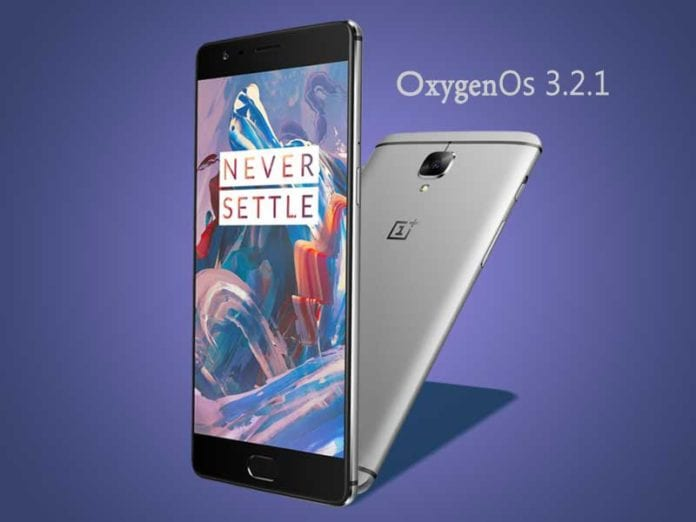 OnePlus 3 start getting OxygenOS 3.2.1