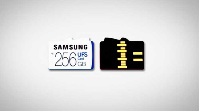 Bid Adieu MICRO SD cards? Samsung first UFS cards Launched