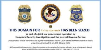 Kickass Torrents has been taken down by the US government