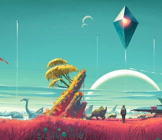 No Man's Sky, the indescribably enormous space exploration game, is finally finished