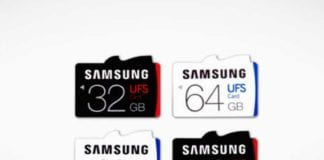 Bid Adieu MicroSD cards? Samsung first UFS cards Launched