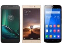 Moto G4 Play vs Xiaomi Redmi 3S Prime vs Huawei Honor Holly 2 Plus – Specs comparison