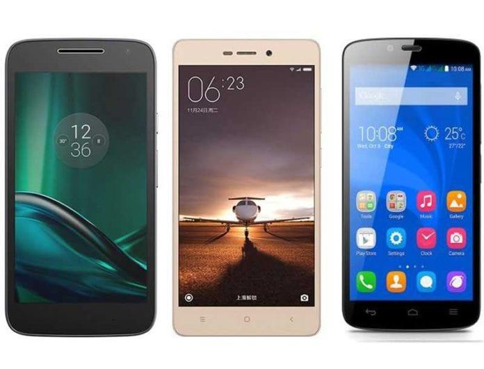 Moto G4 Play vs Xiaomi Redmi 3S Prime vs Huawei Honor Holly 2 Plus – Specs comparison