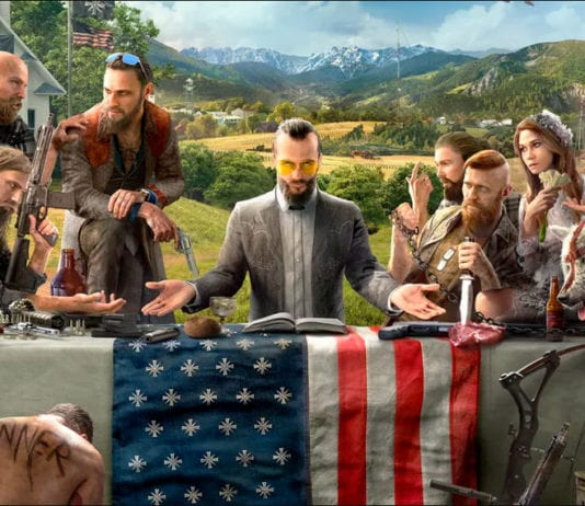 The Far Cry 5 - Ubisoft reveals first Far Cry 5 art and Character