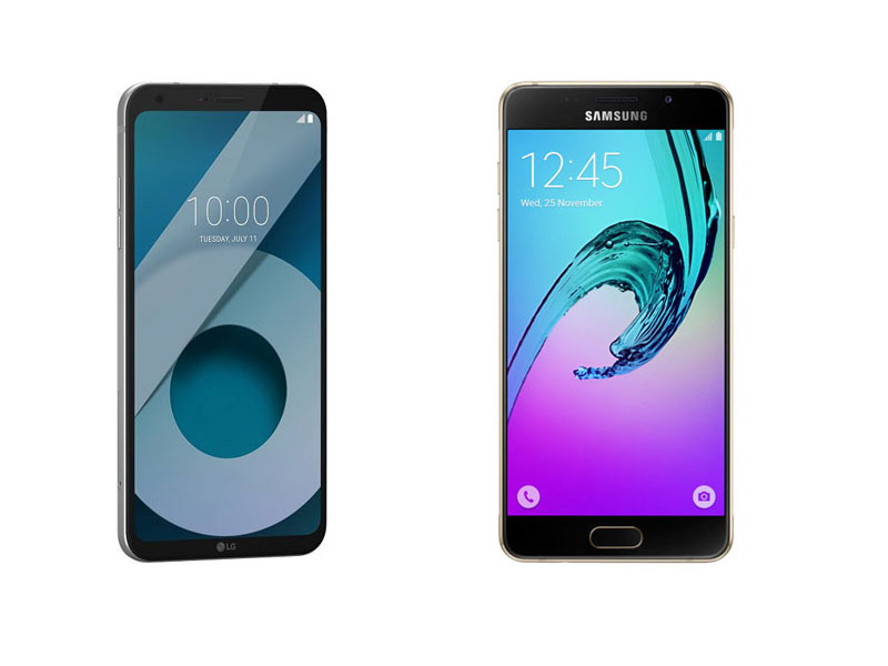 Lg Q6 Vs Samsung Galaxy A5 2017 Techcresendo