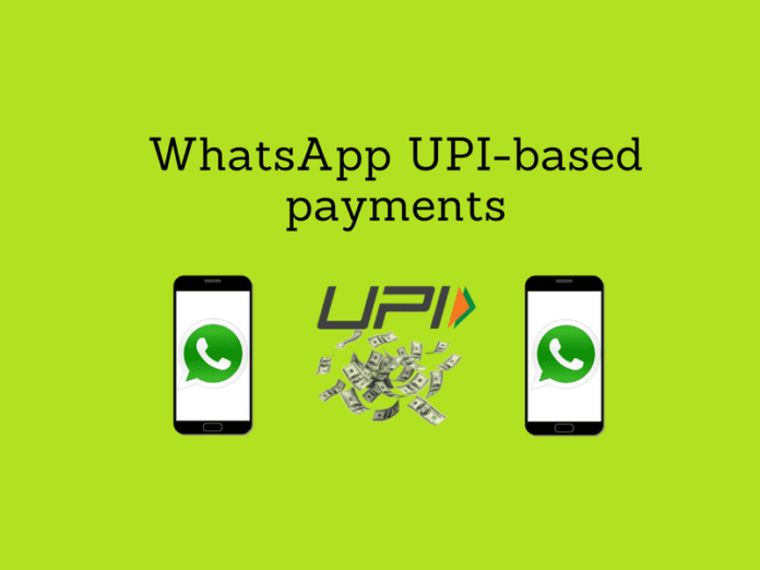 WhatsApp UPI based payments feature available in India