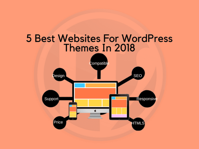5 Best Websites For WordPress Themes In 2018