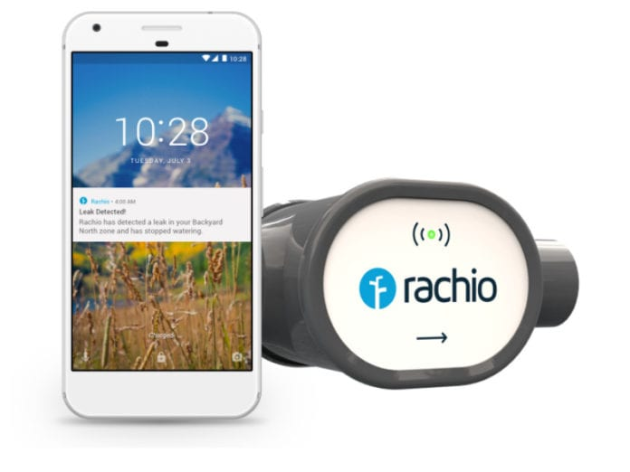 Rachio Internet-Connected Sprinkler System Can Detect Leaks