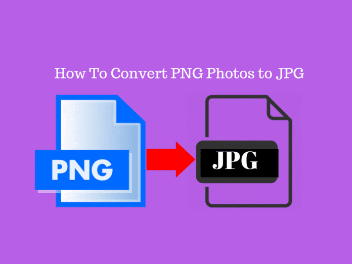 How To Convert PNG Photos to JPG in 2018-Learning Path