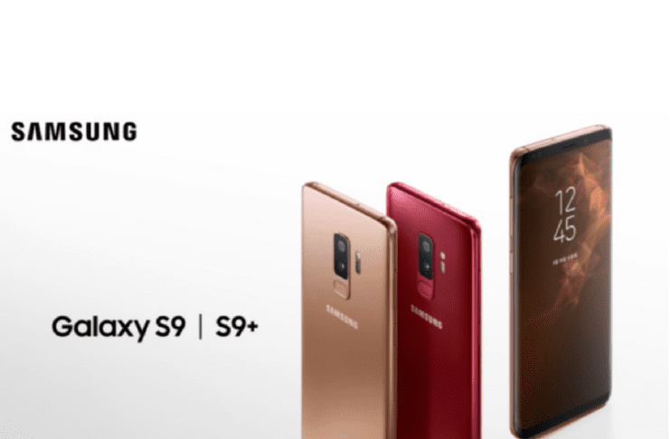 New Samsung Galaxy S9 And S9 Plus With Gold and burgundy Color Launched