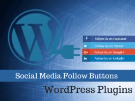 3 Easy Social Media Follow Buttons WordPress Plugins