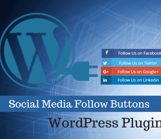 3 Easy Social Media Follow Buttons WordPress Plugins