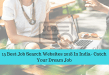 15 Best Job Search Websites 2018 In India- Catch Your Dream Job
