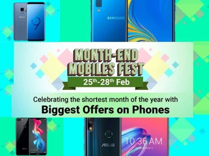 Flipkart Month-end Mobiles Fest From 25th- 28th Feb: Offers Discounts On Smartphones