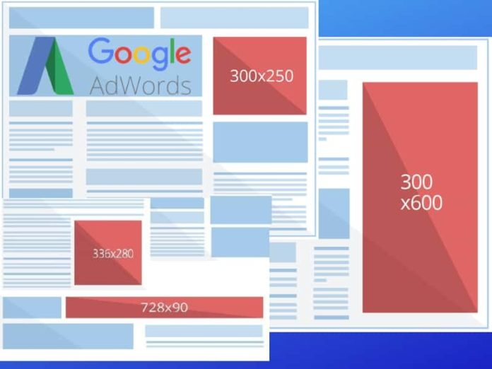 What Are The Google AdWords Banner Sizes - AdWords Guide