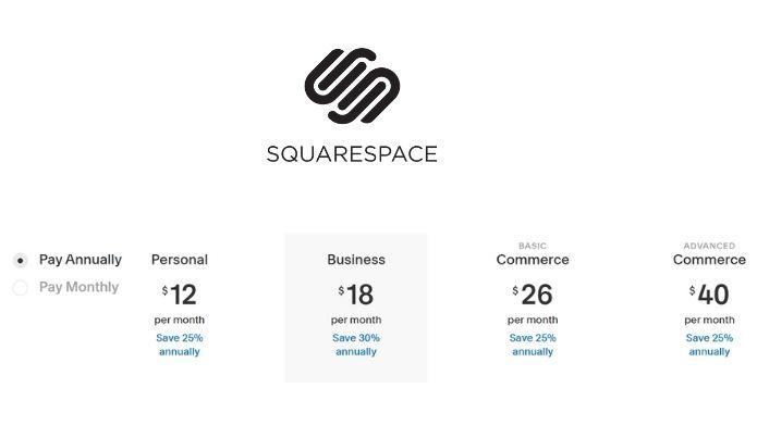 Meilleurs créateurs de sites Web à enregistrer en 2021 - Squarespace